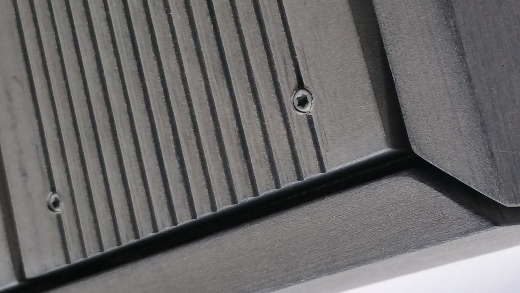 SmartBoard decking screws with colour matched heads