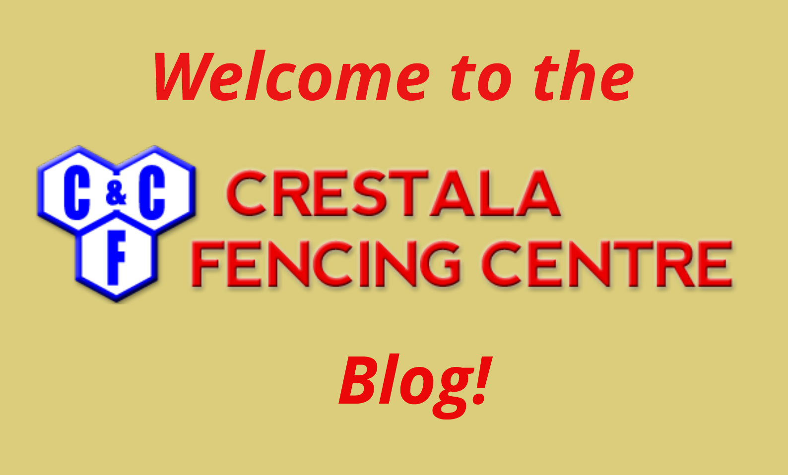 Welcome to Crestala Fencing Centres Blog!