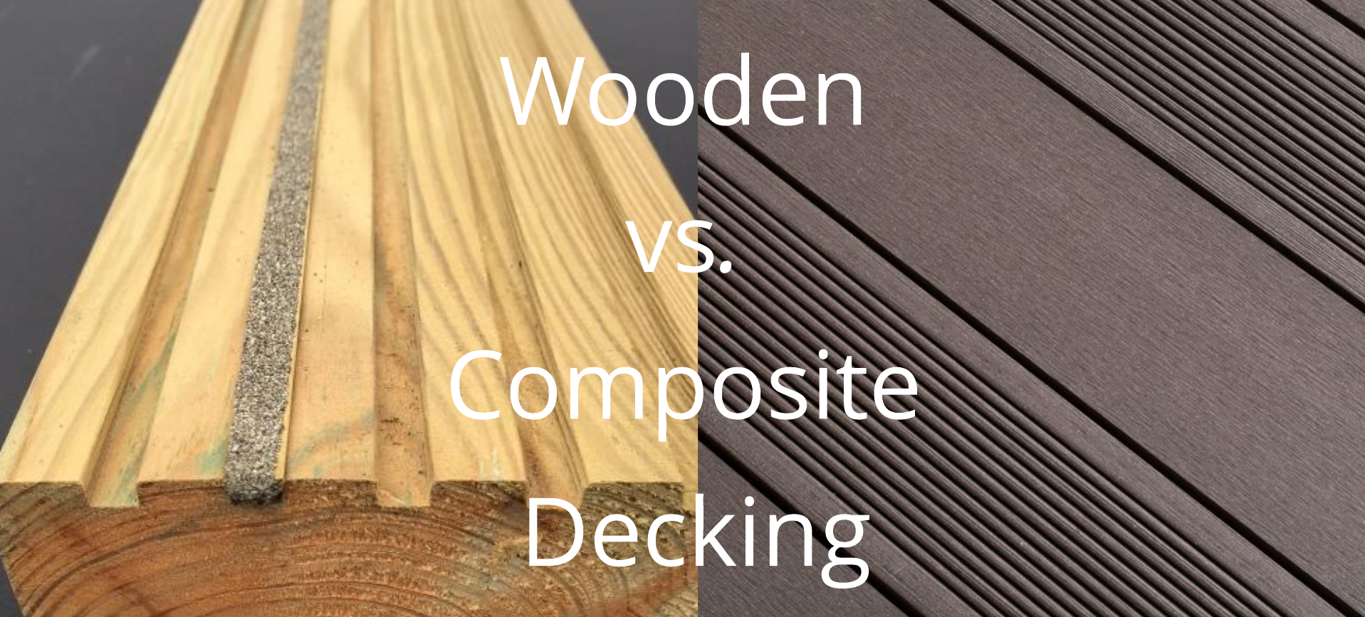 Wooden Vs. Composite Decking