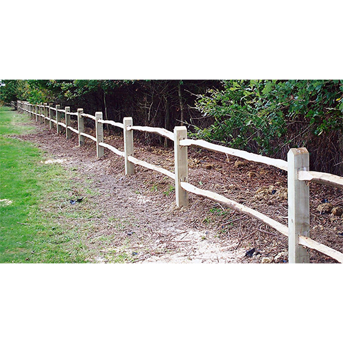 2 Cleft Rail with sawn posts