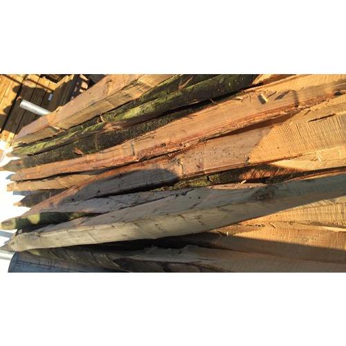 Rustic Chestnut hardwood Sussex Rail set at 9 inch centres