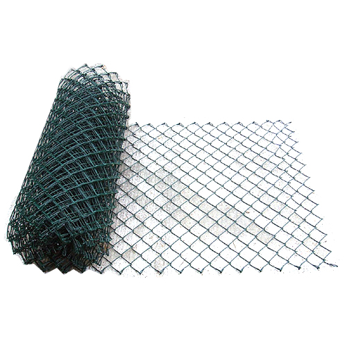 Green PVC Chain link Fencing
