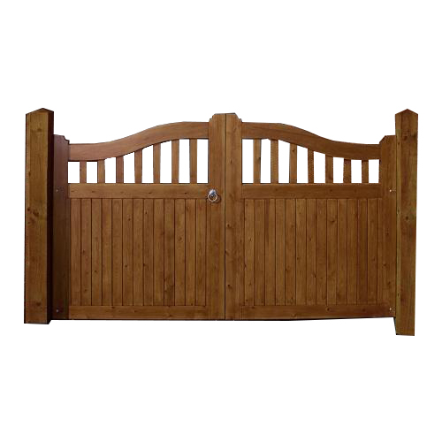 Pressure treated Beckington Gates by Charlton's Gates