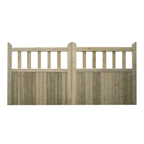 Scandanavian kiln-dried softwood Hamptons Gates with slatted top