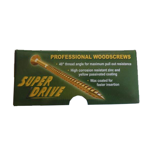 Super Drive Wood Screws