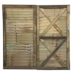 Super Straight Edge Panel Gate - 91-5cm-3 - 1-83m-6