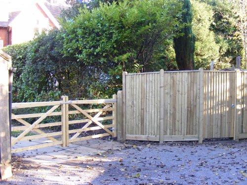Closeboard and field gates by DK Fencing