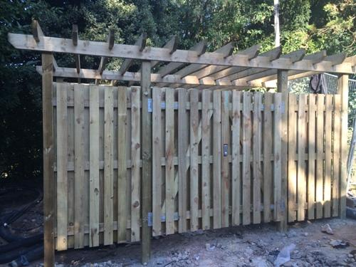 Pergola and Enclosed area by DK Fencing
