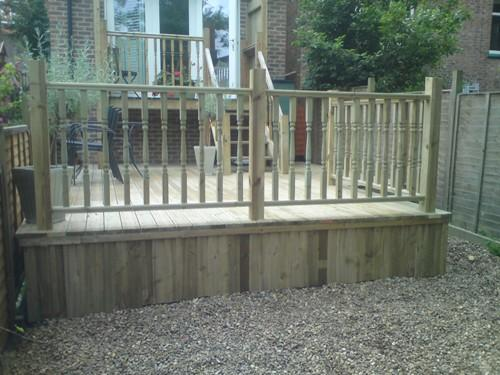 Decking by Nick King Landscapes
