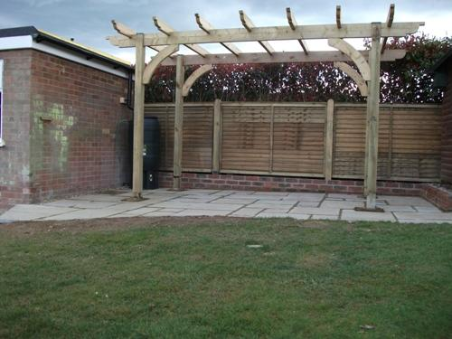 Pergola by Nick King Landscapes
