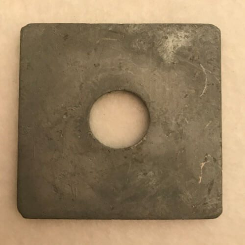 Large Square Washer