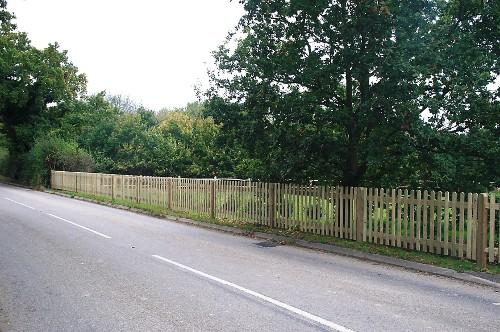 Palisade Fencing by RM Fencing