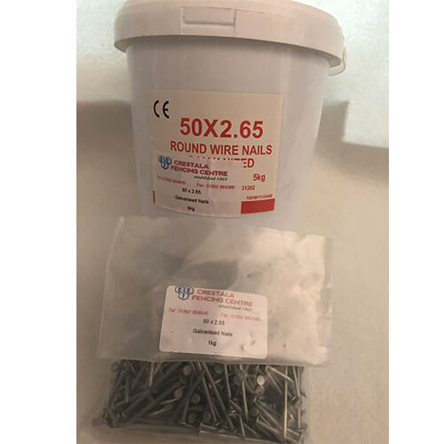 Galvanised Nails available in tubs and bags