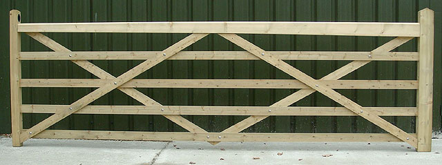 Field gate hanging measurements help, 5 Bar Somerfield gate