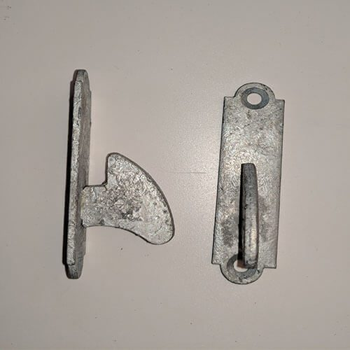 Latch Hook - spare part for a Ring Latch or Suffolk Latch