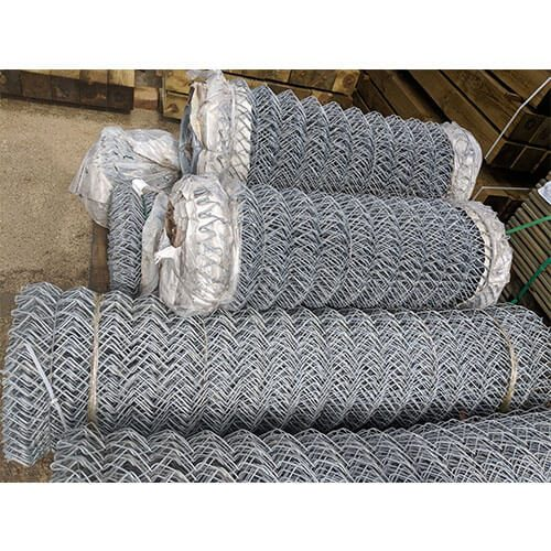 Galvanised Chainlink Fencing