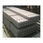 Concrete Morticed Posts for use with Closeboard & Palisade Fencing - 1-50m - 0.90m(3') - 100mm4-x-100mm4 - Corners