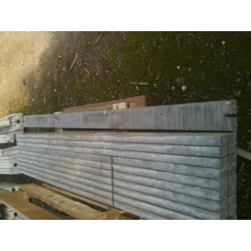 2.885m wide, 150mm high Concrete Gravel Boards for use with Closeboard Fencing
