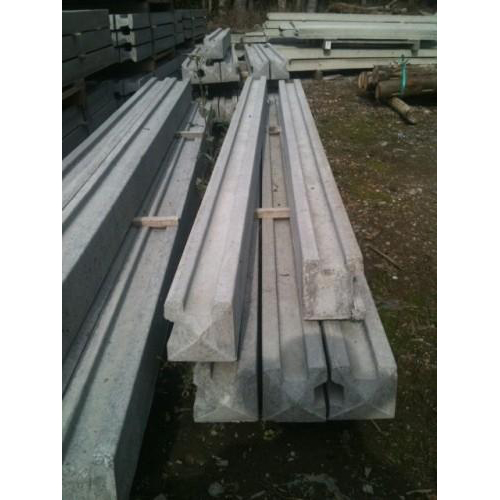 Corner Concrete Slotted Posts for use with Panels and Trellis