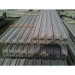 Concrete Slotted Posts for use with Fencing Panels and Trellis - Inters - 1-5m-49 - 105mm-x-90mm