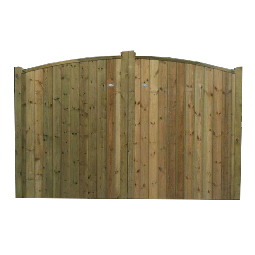 Crestala's hand made Eridge Entrance Gates, tongue and groove softwood