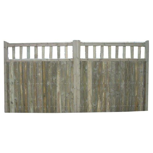 Crestala's hand made Langton flat top, tongue and groove softwood Gates