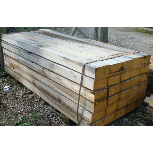 Green Oak Hardwood Sleepers