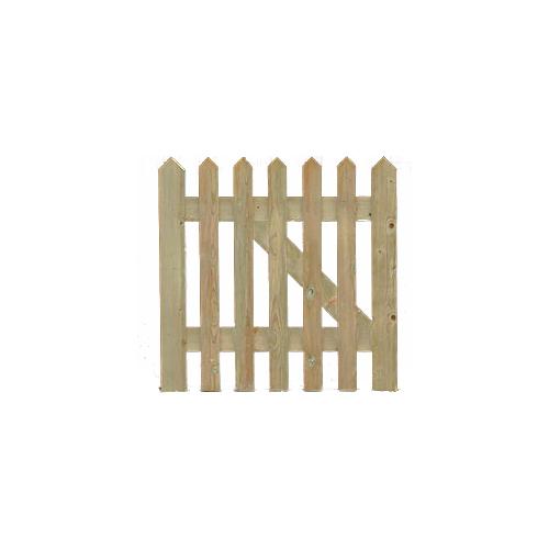 Framed, ledged and braced Palisade Gates