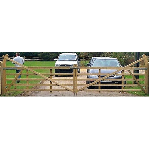 A pair of Estate Gates