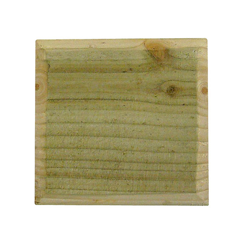 Square Wooden Treated Post Cap