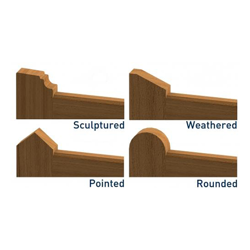 Gate Top Options for Closeboard Gates