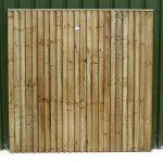 Crestala Closeboard Fence Panel - 1-83m-6 - 6ft