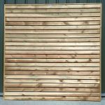 Crestala Contemporary Fence Panel - 1-83m-6 - 0-91m-3