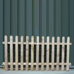Crestala Palisade Fence Panel - Pointed Top - 1-8m-510 - 0-90