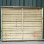 Super Straight-Edge Fence Panel - 1-83m-6 - 0-91m-3