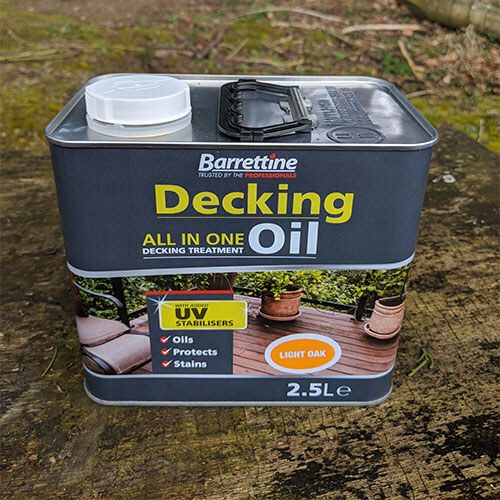 Decking Oil (Light Oak)