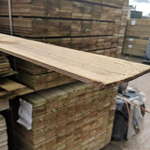Panel Fencing Slats