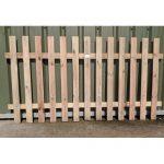 Crestala Palisade Fence Panel - Flat Top - 1-8m-510 - 1-5m-49