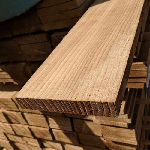 Gravelboards for Closeboard fencing