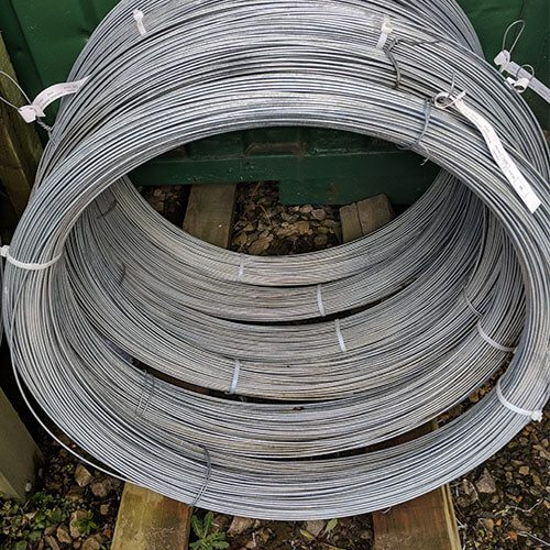 Galvanised Line Wire for fencing