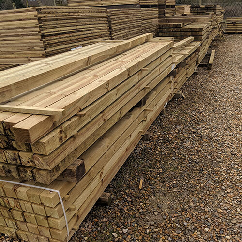 "Packs of 4"" x 4"" Posts"