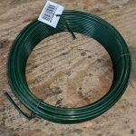 PVC Line Wire - 25kg (approx 600m) - Green PVC - Mild Steel - 2-24mm-3-15mm
