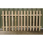 Crestala Palisade Fence Panel - Round Top - 1-8m-510 - 1-5m-49