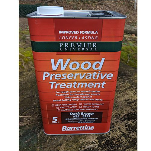Wood Preservative Treatment (brown)