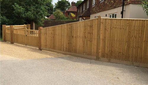 Closeboard Fencing and Hampton Gates