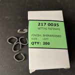Netting Clips and Netting Pins - Light Netting Clips (box: 200)