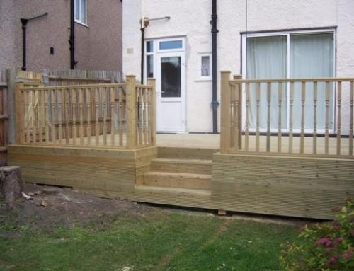 Cleaning Softwood Decking