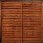 Brown Waney Edge Fence Panel - 1-83m-6 - 3ft