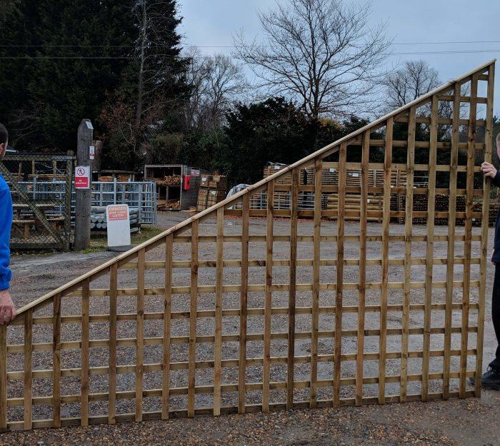 Bespoke, Square Trellis Large Panels, Standard Spacing
