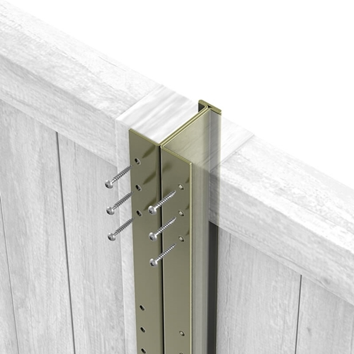 Olive Grey DuraPost with panels